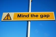 bigstock-mind-the-gap-sign-41172451