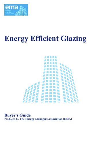 Energy Manager's Guide to Energy Efficient Glazing