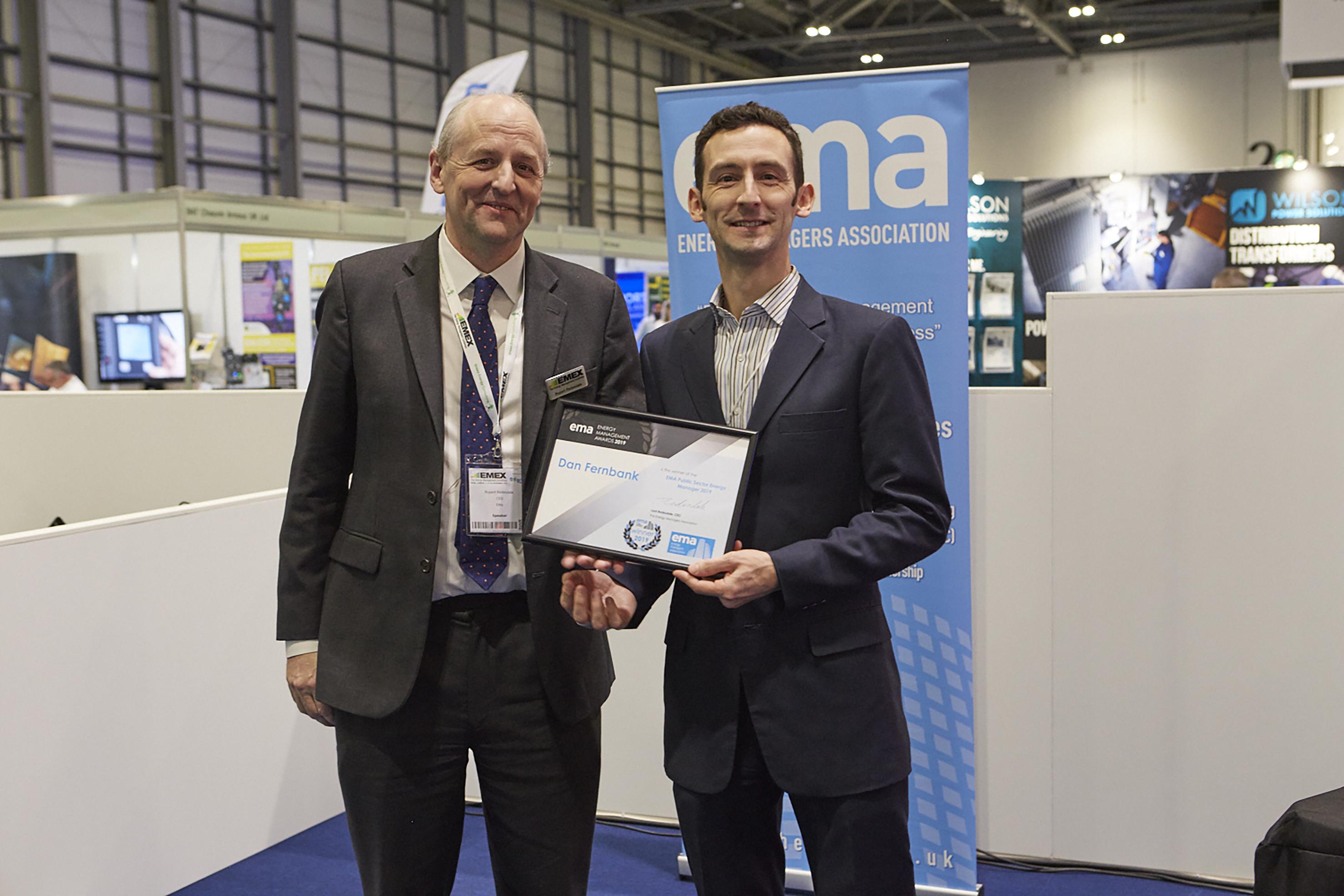 EMA Energy Manager 2018 winner