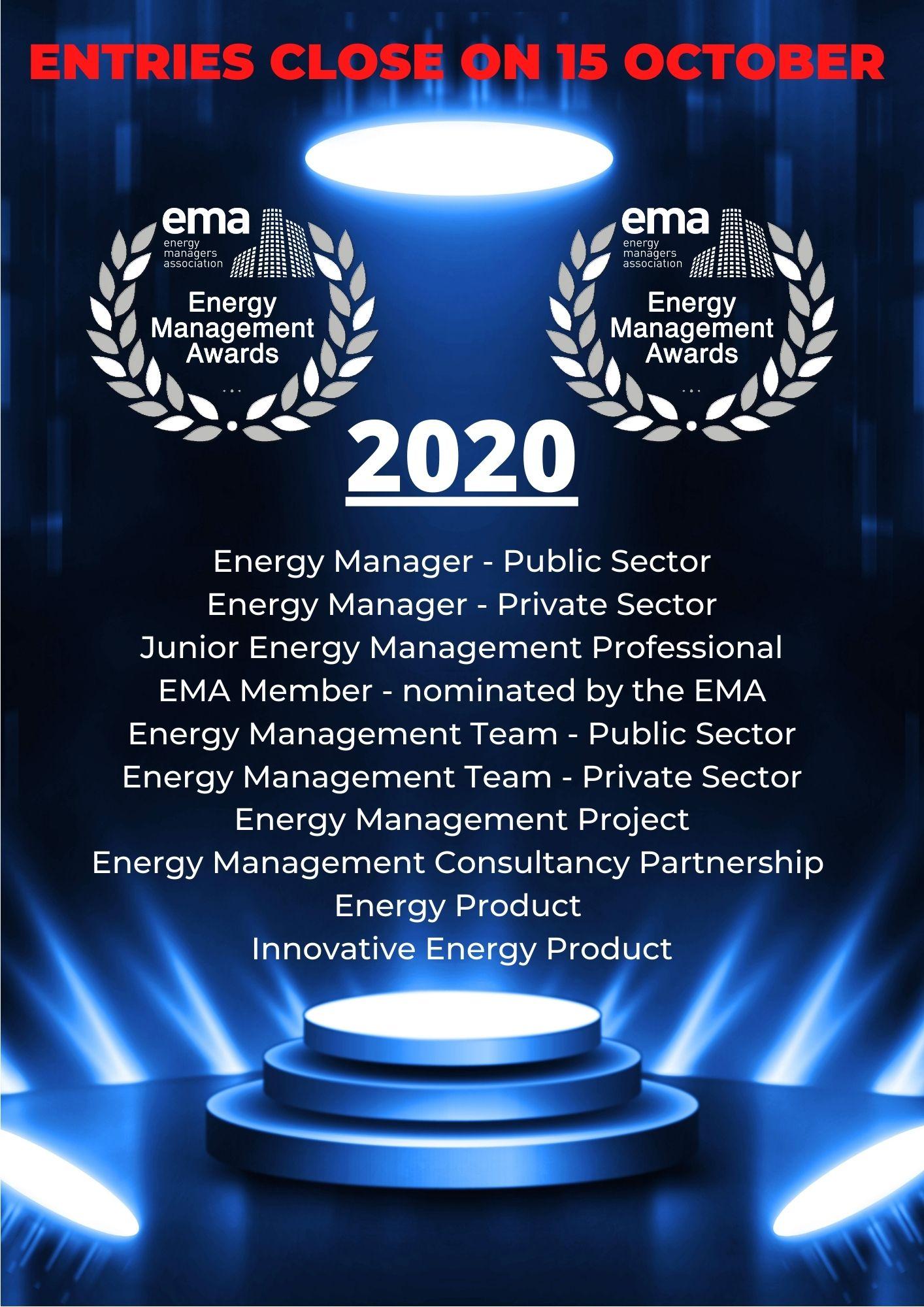 Awards 2020 Close 15 October