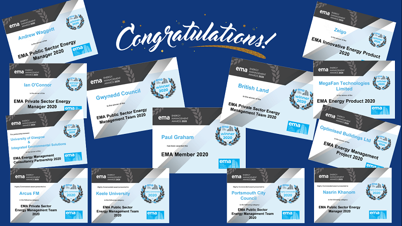 Awards 2020 All Certificates Screenshot