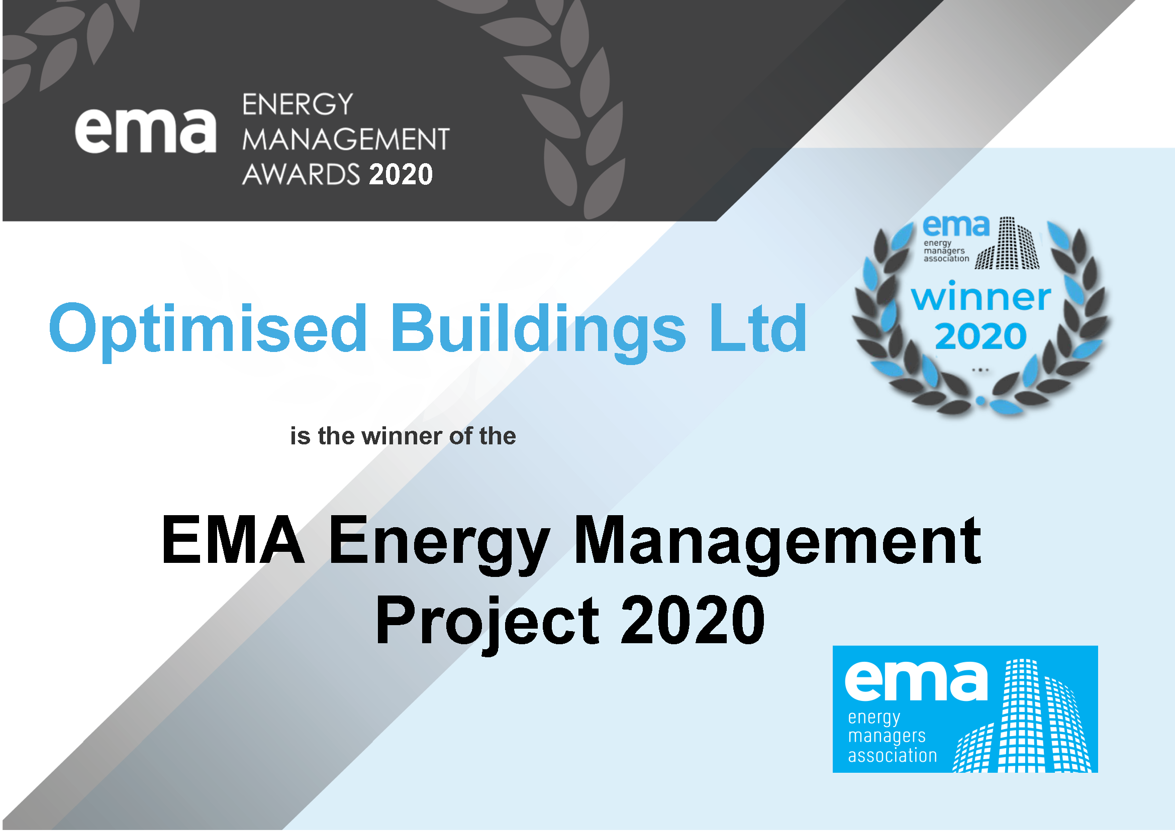 Project 2020 Certificate