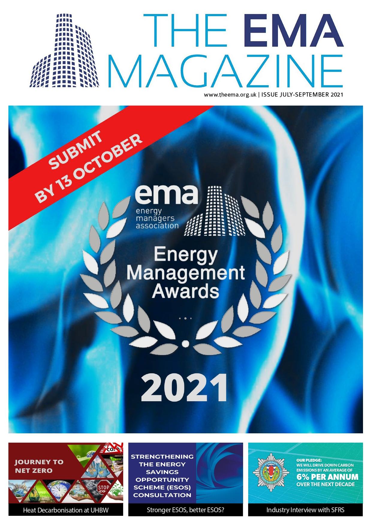 Ema Magazine Jul Sep 2021 Front Cover